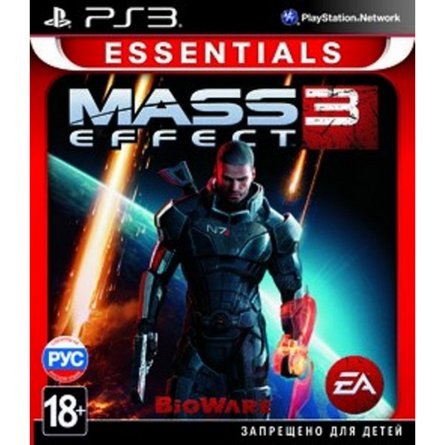Игра для PS3 Mass Effect 3 (Essentials) title=