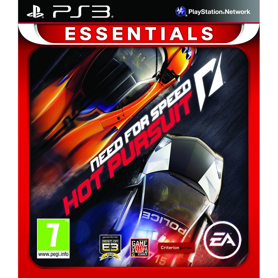 Игра для PS3 Need for Speed Hot Pursuit (Essentials) title=