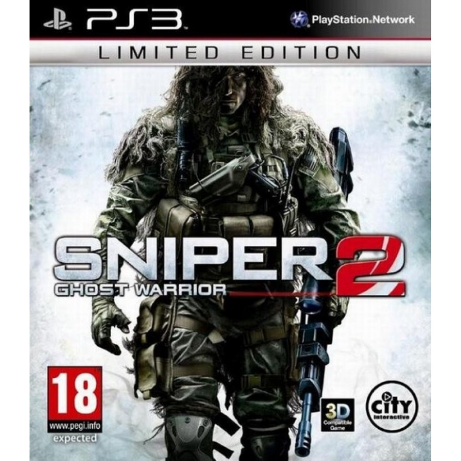 Игра для PS3  Sniper: Ghost Warrior 2 (Limited Edition) title=