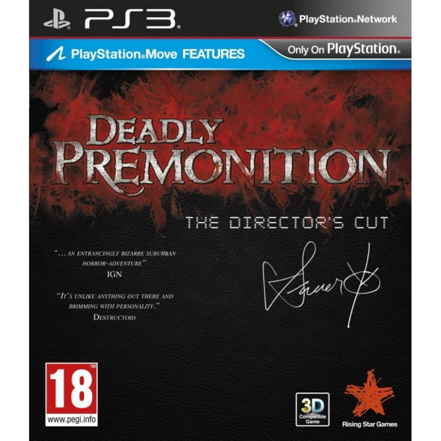 Игра для PS3 Deadly Premonition: The Director's Cut title=
