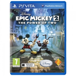 Игра для PS Vita Epic Mickey 2: The Power of Two