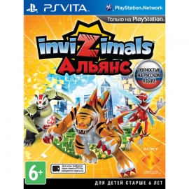 Игра для PS Vita Invizimals. Альянс