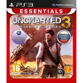 Игра для PS3 Uncharted 3. Иллюзии Дрейка (Essentials)