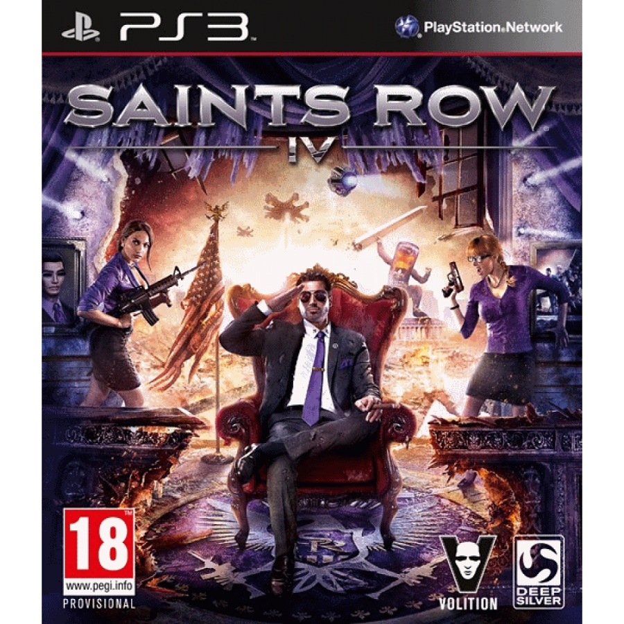 Игра для PS3 Saints Row 4 title=