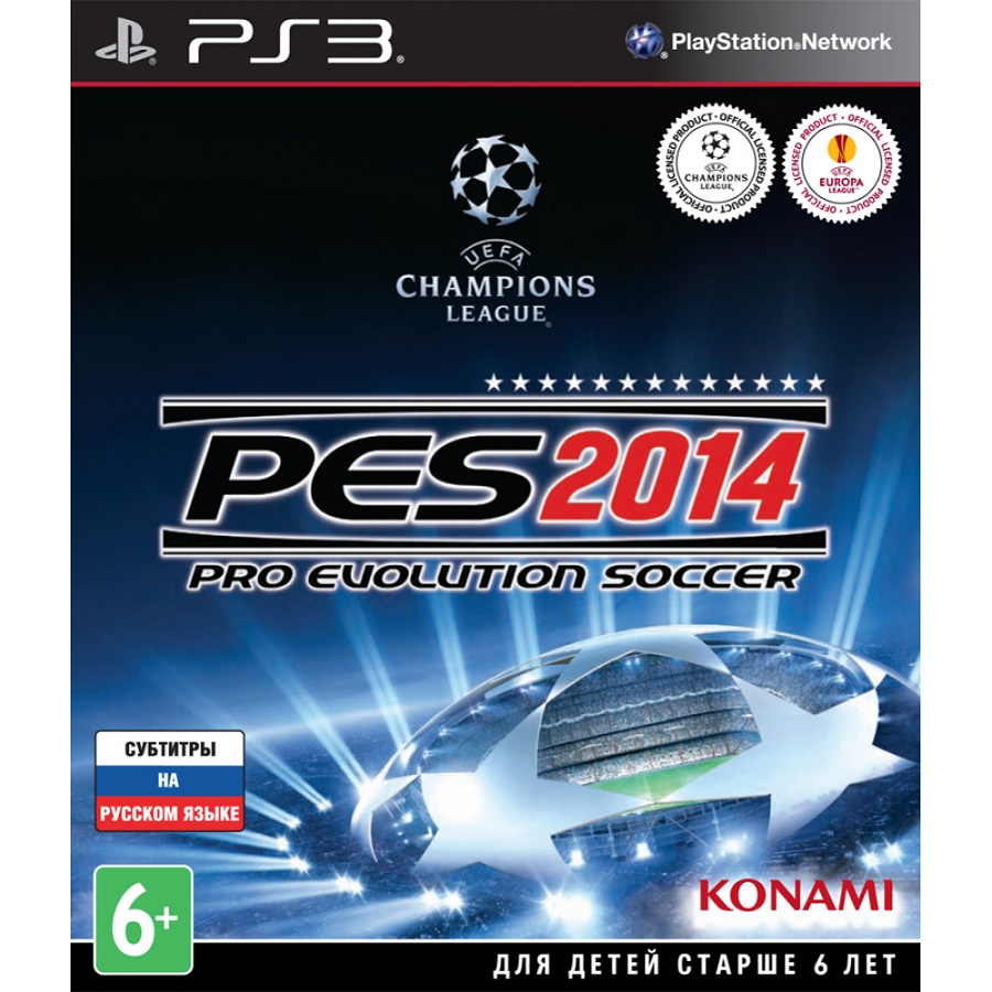 Игра для PS3 Pro Evolution Soccer 2014 title=