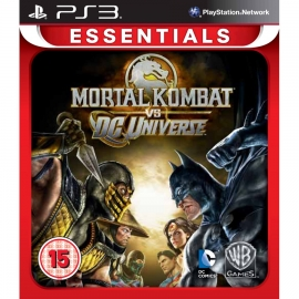 Игра для PS3 Mortal Kombat vs DC Universe (Essentials)