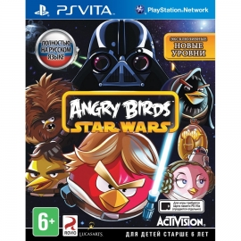 Игра для PS Vita Angry Birds Star Wars
