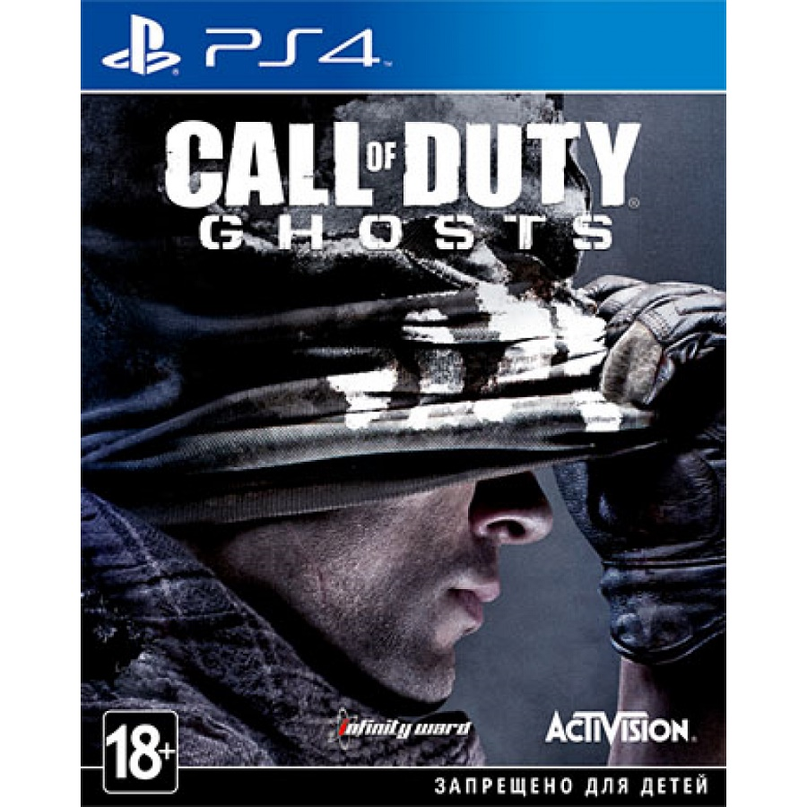 Игра для PS4 Call of Duty. Ghosts title=
