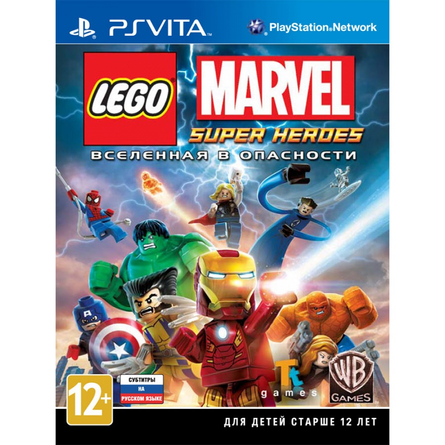 Игра для PS Vita LEGO Marvel Super Heroes title=