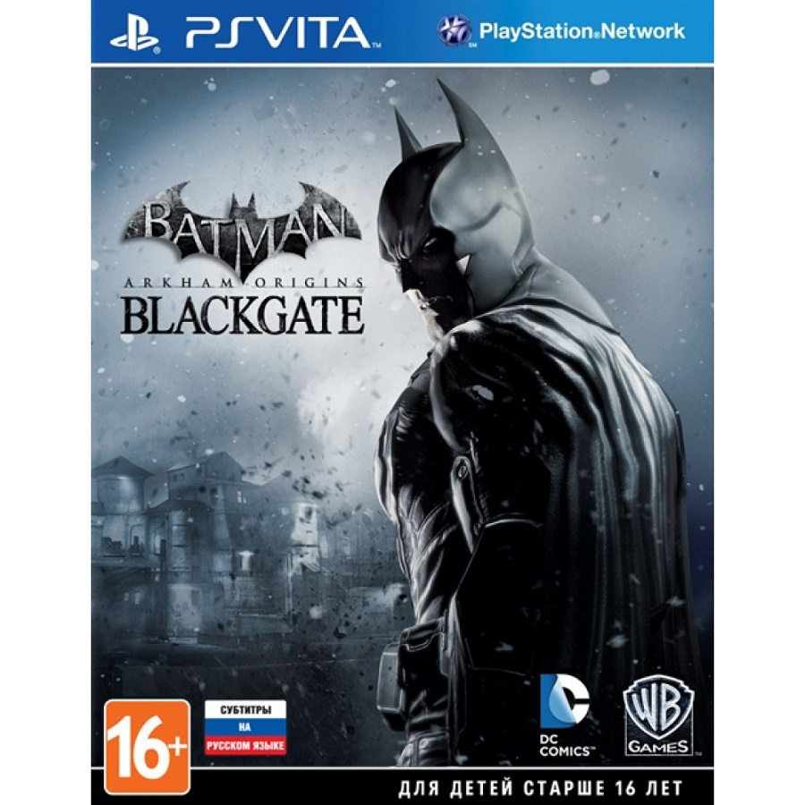 Игра для PS Vita Batman. Arkham Origins Blackgate title=