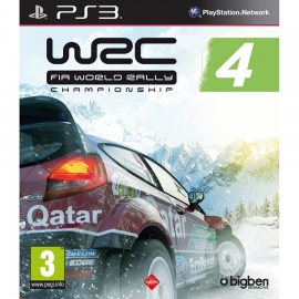Игра для PS3 WRC FIA World Rally Championship 4