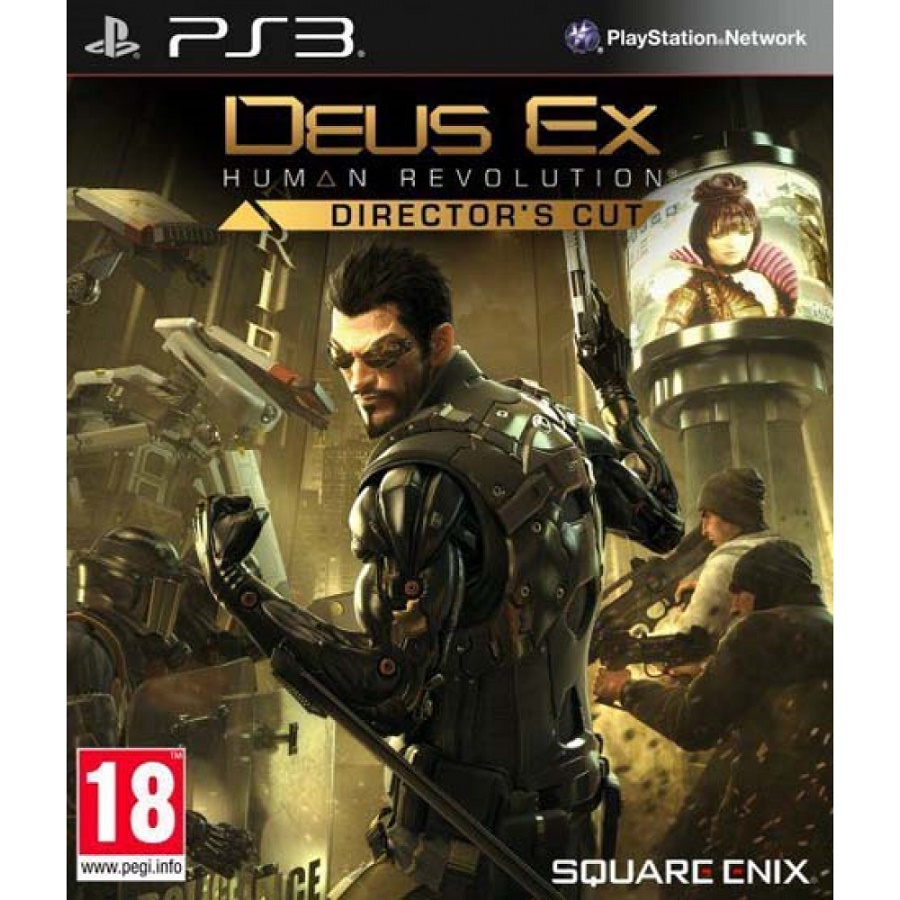 Игра для PS3 Deus Ex: Human Revolution (Director's Cut) title=