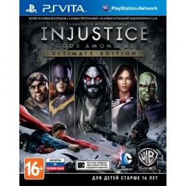 Игра для PS Vita Injustice: Gods Among Us (Ultimate Edition)
