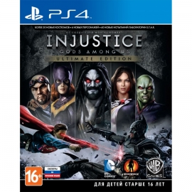 Игра для PS4 Injustice. Gods Among Us (Ultimate Edition)