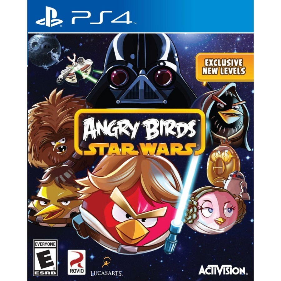 Игра для PS4 Angry Birds Star Wars title=