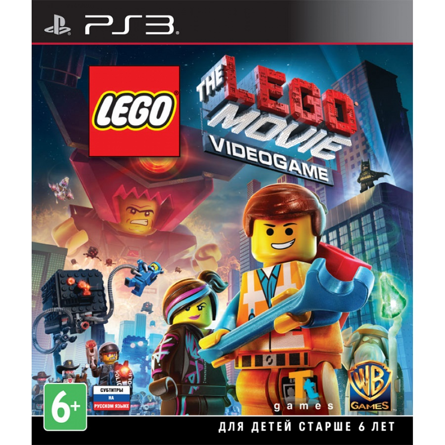 Игра для PS3 The LEGO Movie Videogame title=