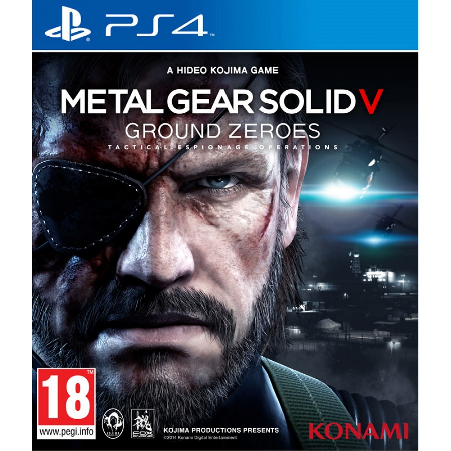 Игра для PS4 Metal Gear Solid V: Ground Zeroes title=