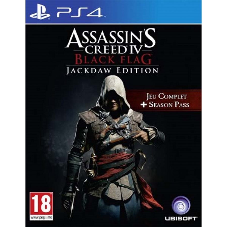 Игра для PS4 Assassin's Creed IV. Черный флаг (Jackdaw Edition) title=