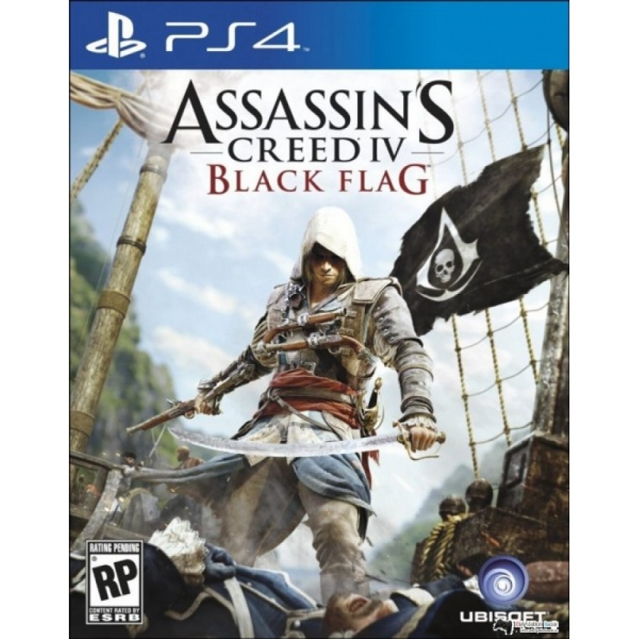 Игра для PS4 Assassin's Creed IV. Черный флаг title=