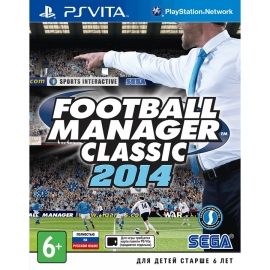 Игра для PS Vita Football Manager Classic 2014