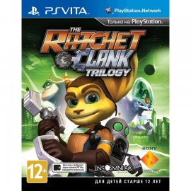 Игра для PS Vita The Ratchet & Clank Trilogy