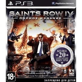Игра для PS3 Saints Row IV (Полное издание)