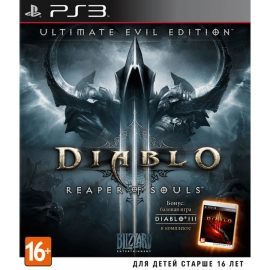 Игра для PS3 Diablo III: Reaper of Souls (Ultimate Evil Edition)
