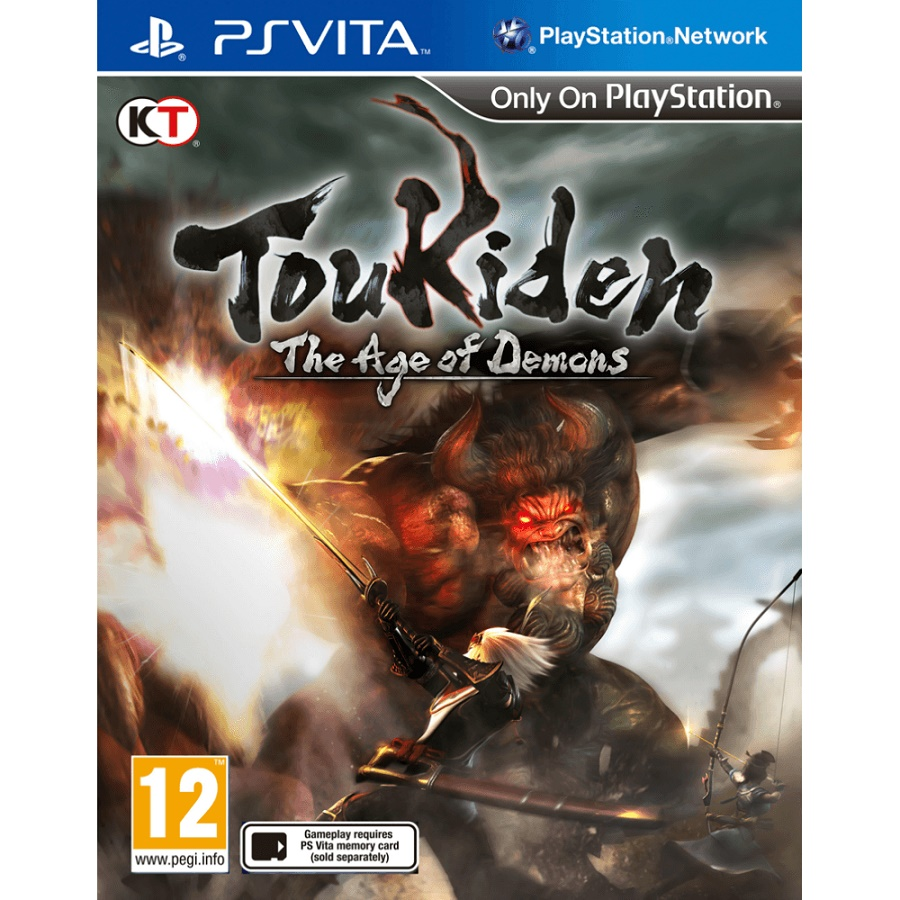 Игра для PS Vita Toukiden. The Age of Demons title=