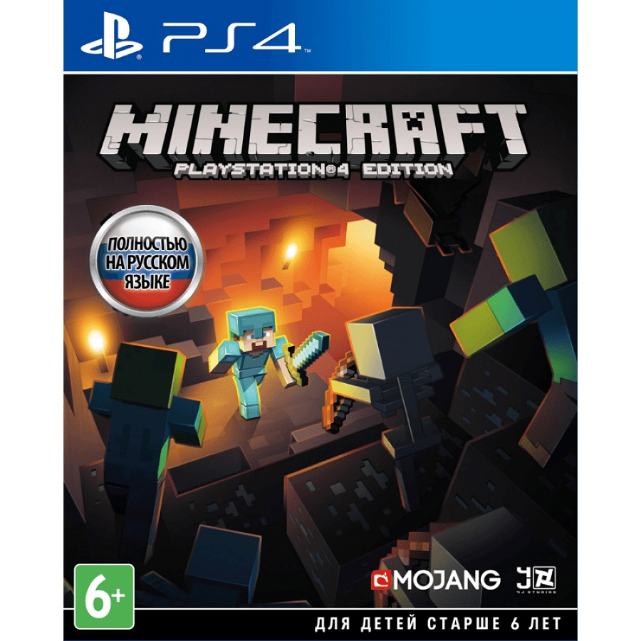 Игра для PS4  Minecraft title=