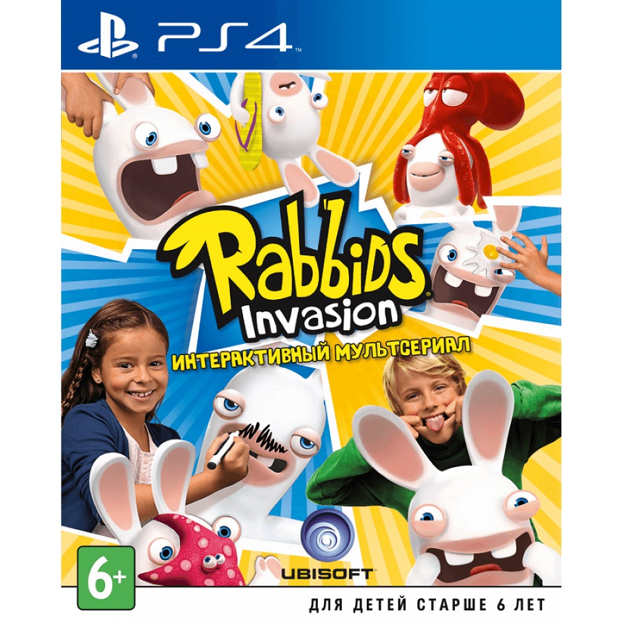 Игра для PS4 Rabbids Invasion title=
