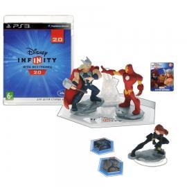 Игра для PS3 Disney Infinity 2.0 (Marvel). Стартовый набор