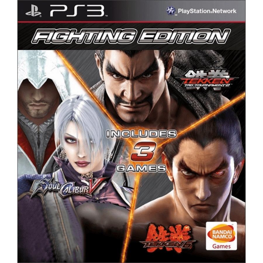 Игра для PS3 Fighting Edition title=