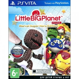 Игра для PS Vita LittleBigPlanet Marvel Super Hero Edition