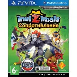 Игра для PS Vita Invizimals: Сопротивление