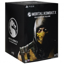 Игра для PS4 Mortal Kombat X. Kollector's Edition