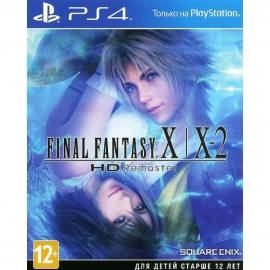 Игра для PS4 Final Fantasy X/X-2 HD Remaster