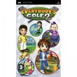 Игра для PSP Everybody's Golf 2