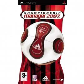 Игра для PSP Championship Manager 2007