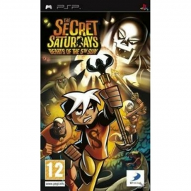 Игра для PSP The Secret Saturdays: Beasts of the 5th Sun