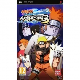 Игра для PSP Naruto Shippuden: Ultimate Ninja Heroes 3