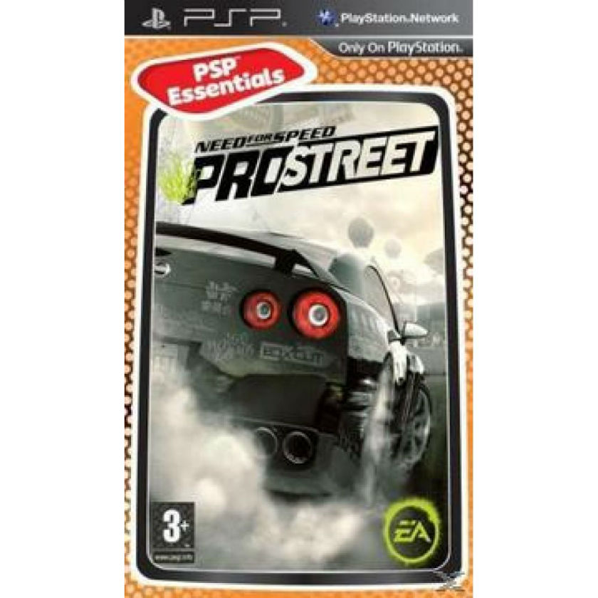 Игра для PSP Need for Speed Prostreet title=