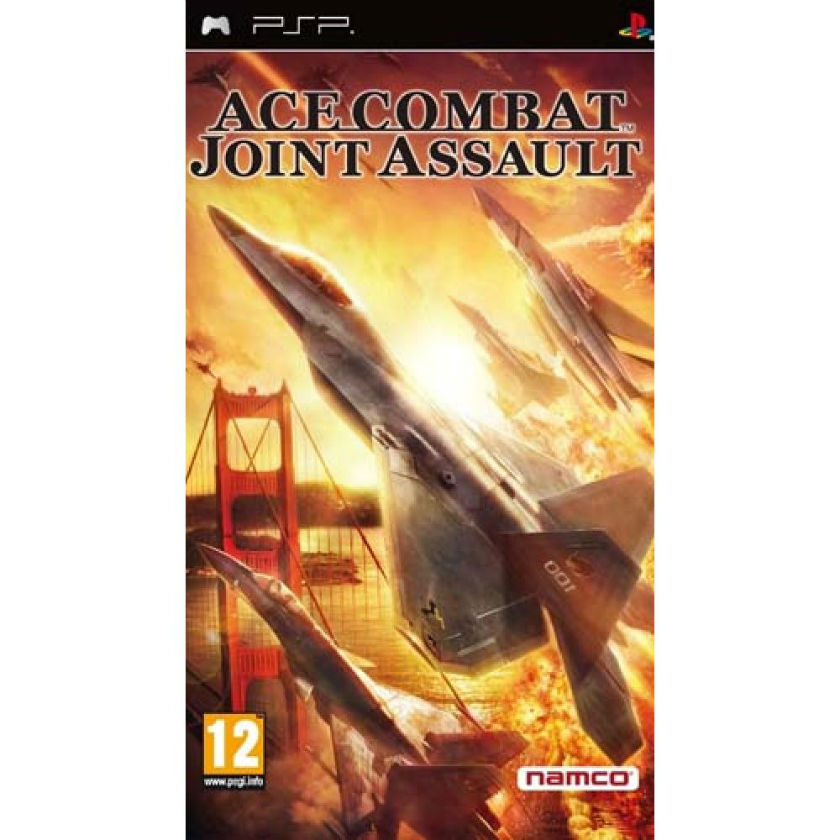 Игра для PSP Ace Combat. Joint Assault title=