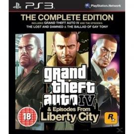 Игра для PS3 Grand Theft Auto IV (Complete Edition)