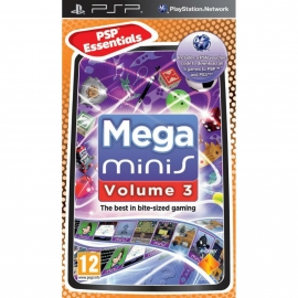 Игра для PSP Mega minis Volume 3 (Essentials)