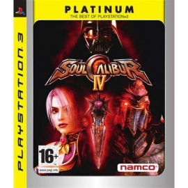 Игра для PS3 Soulcalibur IV (Platinum)