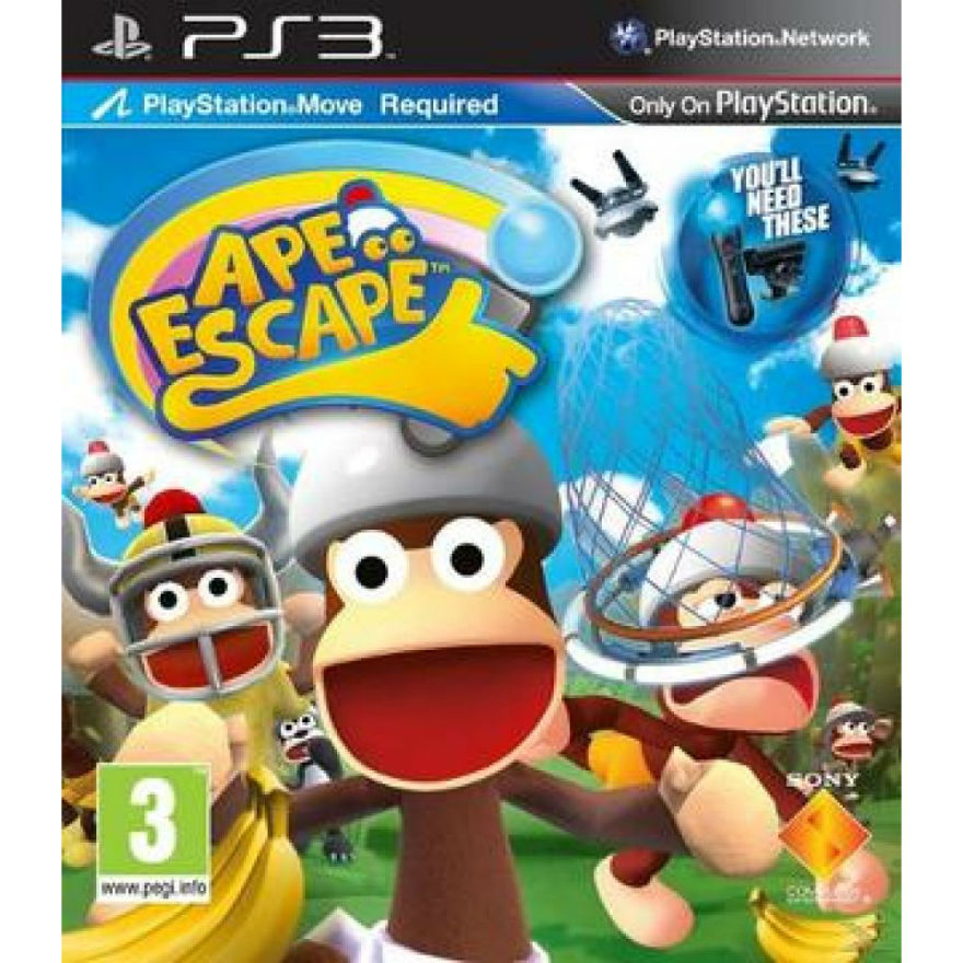 Игра для PS3 Ape Escape title=