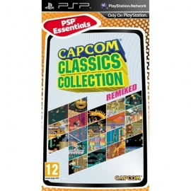 Игра для PSP Capcom Classic Collection Remixed (Essentials)