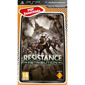 Игра для PSP Resistance: Retribution