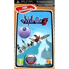 Игра для PSP Patapon 3 (Essentials)