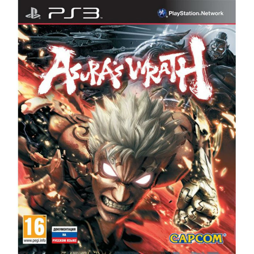 Игра для PS3 Asura's Wrath title=